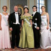 Die königliche Familie feiert im Jahr 2006 König Carl Gustafs 60. Geburtstag.