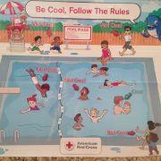 Ist dieses Schwimmbad-Plakat rassistisch? (Foto)