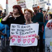 Fremdenhass in England auf rasantem Vormarsch (Foto)