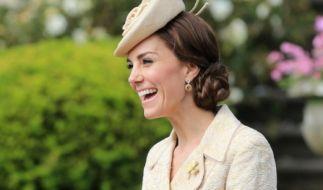 Dünner denn je: Herzogin Catherine auf einer Gartenparty im Juni 2016. (Foto)