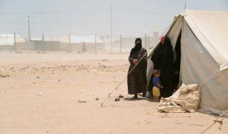 Flüchtlinge im irakischen Flüchltingscamp. (Symbolbild) (Foto)