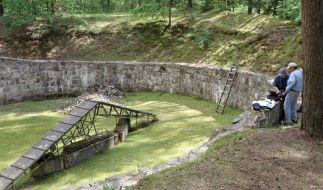 Im Wald von Paneriai in Litauen entdeckten Forscher einen Tunnel durch den Juden vor den Nazis geflüchtet sind. (Foto)