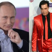"""Wird """"Rammstein""""-Sänger hier Opfer von russischer Propaganda? (Foto)"""