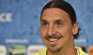 Es ist amtlich: Zlatan Ibrahimovic wechsel zu Manchester United. (Foto)