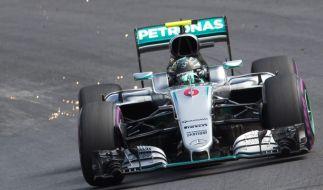 Nico Rosberg während des Ersten Freien Trainings des Großen Preises von Österreich in Spielberg am 1. Juli 2016. (Foto)