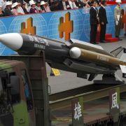 Uups! Taiwan feuert aus Versehen Rakete auf China (Foto)