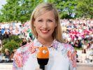 Regelmäßig präsentiert Andrea Kiewel im Zweiten den ZDF-Fernsehgarten. (Foto)