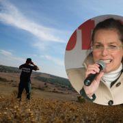 Ex-Pegida-Frontfrau Festerling jagt jetzt Flüchtlinge (Foto)