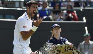 Djokovic scheiterte in Wimbledon schon in der 3. Runde. (Foto)