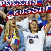 Russland spielte enttäuschend. An den Fans lag das nicht.