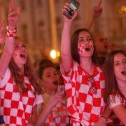 Die Kroaten schafften es bis ins Achtelfinale...