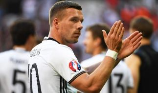 Lukas Podolski: Dieser Kommentar machte ihn mächtig sauer. (Foto)