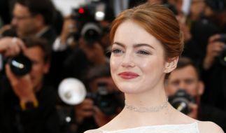Emma Stone bei den Filmfestspielen in Cannes. (Foto)