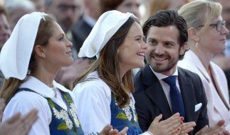 Prinzessin Madeleine, Prinzessin Sofia und Prinz Carl Philip von Schweden. (Foto)