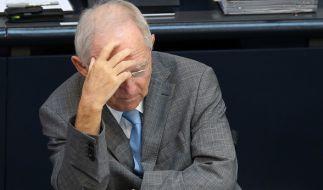 Wolfgang Schäuble steht eine schwierige Debatte bevor. (Foto)