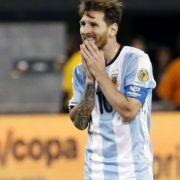 Lionel Messi zu 21 Monaten Haft verurteilt (Foto)