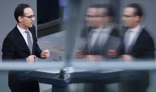 """""""Wenn Täter nicht bestraft werden können, bedeutet das für die Opfer eine zweite bittere Demütigung."""" Laut Justizminister Heiko Maas schließt das neue Sexualstrafrecht """"eklatante Schutzlücken."""" (Foto)"""