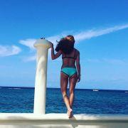 Heiß! Vanessa Mai in der Karibik.
