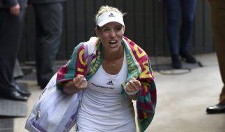 Angelique Kerber hat sich gegen Venus Williams durchgesetzt und steht nun im Finale! (Foto)