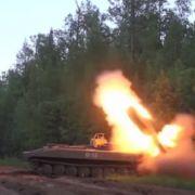 So krass löscht das russische Militär Waldbrände (Foto)