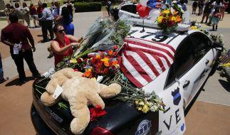 Micah Xavier Johnson, der Polizistenmörder von Dallas, hortete zu Hause Waffen und Bombenmaterial. (Foto)