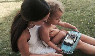 Mandy Grace Capristo beweist ihre Mama-Qualitäten. (Foto)