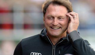 Ralph Hasenhüttl soll RB Leipzig in der Bundesliga bestehen lassen. (Foto)