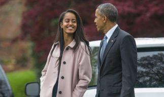 Malia, die Tochter von US-Präsident Barack Obama, hat es auf einer Reise ganz schön krachen lassen. (Foto)