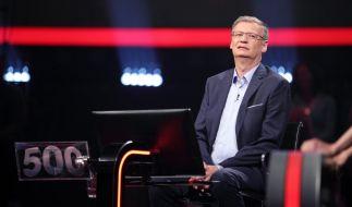 Zu leichte Fragen: Günther Jauch ist mit seiner Geduld am Ende. (Foto)