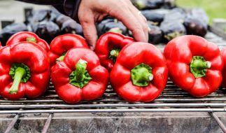 Aus gegrillten und schonend eingekochten Gemüsen entstehen würzige Pasten für das Grillbüffet. (Foto)