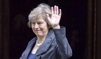 Die 59-jährige Theresa May wird neue Premierministerin von Großbritannien. (Foto)