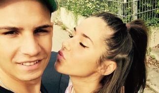 Glückliches Ehepaar: Sarah und Pietro Lombardi. (Foto)