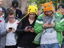 Neuer Hit auf dem Smartphone: Seit der Veröffentlichung von Pokémon Go in der vergangenen Woche wurde das Spiel bereits millionenfach heruntergeladen. (Foto)