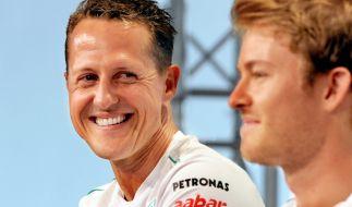Michael Schumacher und Nico Rosberg waren drei Jahre lang Teamkollegen. (Foto)
