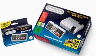 Die Neuauflage des NES kommt mit 30 vorinstallierten Spielen. (Foto)