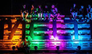 Rund 20.000 Fans strömen jedes Jahr nach Gräfenhainichen zum Melt! Festival. (Foto)