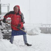 Einstellige Temperaturen, Dauerregen und Schnee in Deutschland! (Foto)