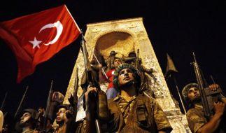 In der Nacht zum Samstag kam es in der Türkei zu einem blutigen Militärputsch. (Foto)