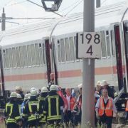 Gefangen im Zug ohne Klimaanlage - Notarzteinsatz (Foto)