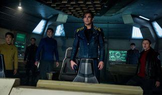 Captain Kirk und seine Crew stehen einem übermächtigen Gegner gegenüber. (Foto)