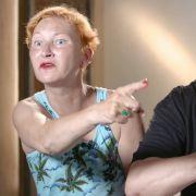 Die Nerven von Ilona Magyar und Hubert Kah liegen im