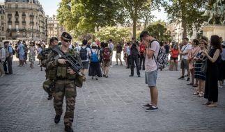 Die Angst vor Terror ist derzeit allgegenwärtig in Europa. (Foto)