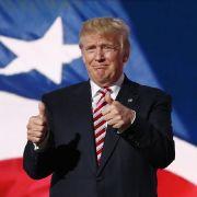 Eingemauert! Jetzt hat Trump seine eigene Mauer (Foto)
