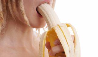 Bananen-Blowjob: Der ist definitiv vegan! (Foto)
