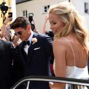 Frisch getraut: Hochzeit mit seiner Carina in München (Foto)