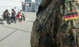 Die Bundeswehr soll Flüchtlinge ausbilden. (Foto)