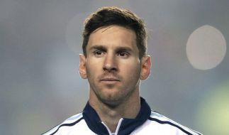 Dieser Look scheint bei Lionel Messi der Vergangenheit anzugehören. (Foto)