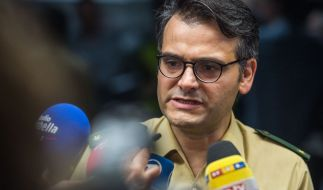 Der Müncher Polizeisprecher Marcus da Gloria Martins hat scharfe Kritik an den Medien geübt. (Foto)