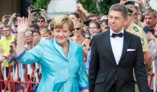 Angela Merkel mit ihrem zweiten Ehemann Joachim Sauer: Die beiden sind seit 1998 verheiratet. (Foto)