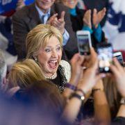 Hillary Clinton schreibt Geschichte! (Foto)
